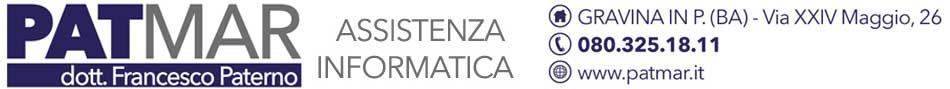 PATMAR INFORMATICA del Dott. FRANCESCO PATERNO