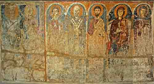 Dipinti Murali E Pittura Ad Ago : Servono euro per il restauro delle pitture murali di san